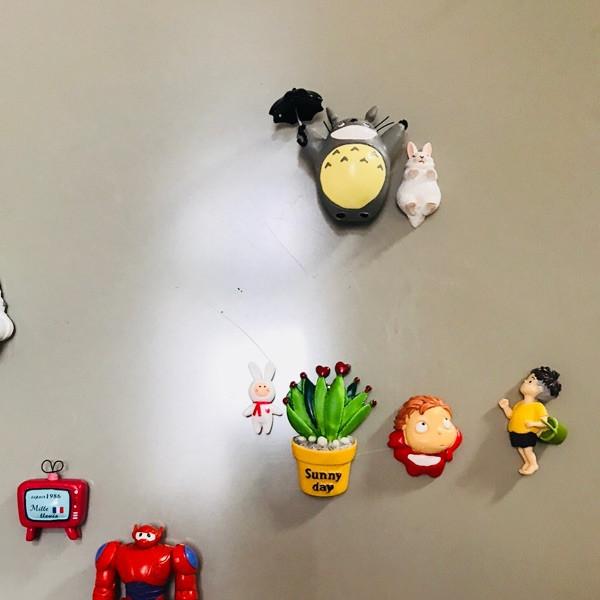 Cute Lazy Sitting Pets Animals Bear Cat Dog Hedgehog Lifelike pvc toys fridge magnets - Buyer\'s Show 3