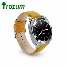 TROZUM NEW X3 Bluetooth Smart Watch Pedometer Fitness Clock Camera SIM Card Mp3 Player Relogio Masculino for Android Watchphone