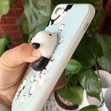 3D Cute Squishy Rub Cat Case for iPhone 6 6S 7 7 Plus Funny Poke Animal Ultra Thin Phone Cases for iPhone 7 7 Plus 6 Plus Coque(China)
