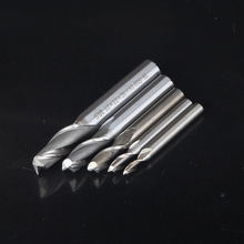 1pcs 2Flute HSS End Mill Diameter 4mm-12mm Router Bit straight shank milling cutter cnc tool Double flutes(China)