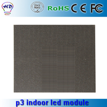 p3mm indoor SMD led module,64X64 pixels 1/16 scan p3 led display panel,indoor full color led video wall module