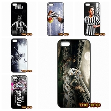 Paul Pogba Paulo Dybala Hard Phone Case Cover Fundas For iPhone 4 4S 5 5C SE 6 6S 7 Plus Galaxy J5 A5 A3 S5 S7 S6 Edge