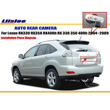 Car Camera For Lexus RX330 RX350 RX400h RX 330 350 400h 2004~2009 / Rear View Camera HD CCD RCA NTST PAL License Plate Light OEM