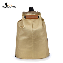 Canvas Drawstring Sports  Bag Fashion Yoga Gym Backpack For Women Men Outdoor Training School Computer Teenager Bag New XA464WD