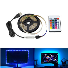 5 V de Alimentação USB LED light Strip RGB/Branco/Branco Morno 2835 3528 SMD HDTV TV PC Desktop Tela Backlight & Viés de iluminação 1 M 2 M 3 M 4 M(China)
