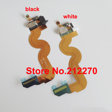 YUYOND 50pcs Original New Charging Charger Dock Port Audio Jack Flex Cable For Apple iPod Touch 5 Black/White Wholesale