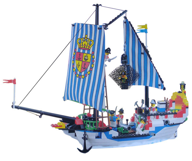 Children building block set compatible with ship pirates Royal Sloop PCS300 Construction Brick Educational Hobbies Toys for Kids<br>