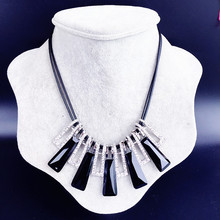 Dominated Women Clavicle Necklace Crystal Fashion Accessories Wholesale(China)
