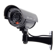 Wholesale Simulated Surveillance Cameras - Wireless IP Security fake Dummy IR LED cameras - Night/Day Vision Look, Weatherproof(China)