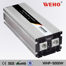 (WHP-5000-242)24vdc to 220vac 5000w pure sine wave power inverter