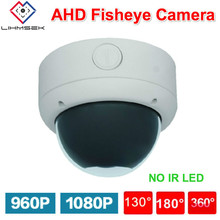 Lihmsek Internal Home Security Camera AHD 960P Indoor Dome Vandal-proof Camera 1.5mm 180 degree AHD-H Output 1080P Surveillance