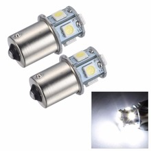 1X 1156 BA15S 1157 BA15D P21 5W 8SMD 5050 Car Led Lights Brake Tail Lamps 8SMD Auto Rear Reverse Bulbs DC 12V(China)