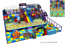 Exported to Russia CE Approved Shopping Mall Large Commercial Indoor Play Equipment 160324-D(China)