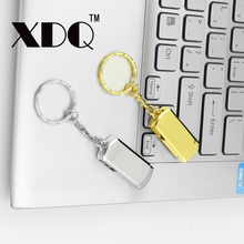 Pen Drive 4GB 8GB 16GB 32GB USB stick Stainless 64GB 128GB USB Flash Drive swivel Memory stick USB2.0 U disk with key chain