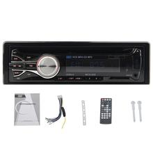 Car dvd Audio In-Dash Single-Din Headunit Fix Planel Car DVD/CD/SD/MP3 Player Car Stereo Receiver Streaming with Remote Control