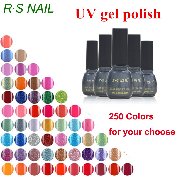 Natural R.S brand nail gel nail polish gel varnish unhas de gel lacquer nail glue beauty harmony vernis uv esmalte gel beauty(China)