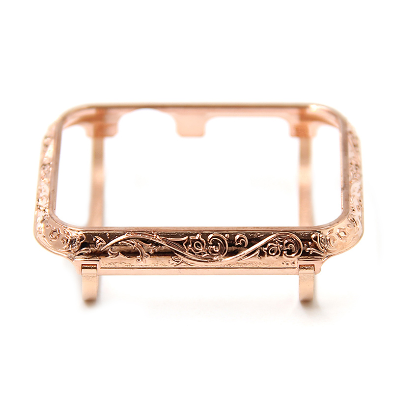luxury metal watch case for apple Housing cover watch shell 38-42mm (8)