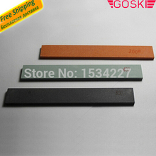 Aluminium oxide stone 3 pieces200# 400# 600# deburring and smoothing the snowboard edge works with most edge tuners(China)