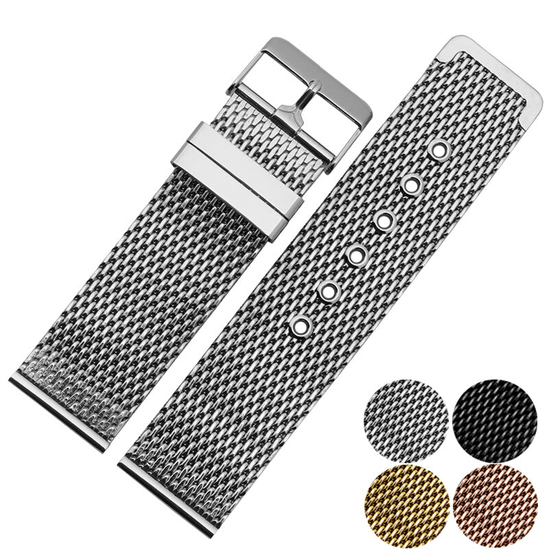 18 mm/ 20 mm/ 22 mm Stainless Steel Watch Band  with Adjust Tool Free Shipping<br>
