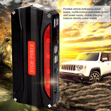 68800mAh Car Jump Starter Portable 4 USB Car Power Supply Rechargeable Power Bank High Power Battery Accessory hot selling