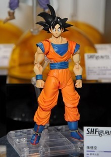 Anime Dragon ball z Toy Figure Goku Figures Son goku PVC Action Figure Chidren Favorite Gifts 15cm Approx Retail Shipping<br>