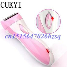 CUKYI Rechargeable Women Epilator Electric Shaver for Body Hair Removal Lady Bikini Shaving Machine