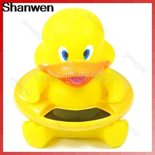 Cute Animal Thermometer Bath Tub Baby Infant Thermometer Water Temperature Tester Toy Duck(China)