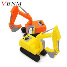 VBNM New truck model usb flash drive pen drive excavator special car pendrive 8gb 16gb 32gb memory stick real capacity