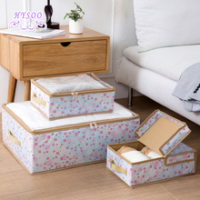 Non - woven Cloth Storage Box Cloth Storage Box Folding Cover Clothes Toy Finishing Box