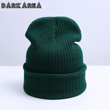 DARKAREA 2017 Adult Winter Hat Women'S Knitting Hat Skullies Beanies Winter Outdoor Men Hat Casual Women Winter Hat Unisex Cap
