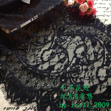 36*300cm exquisite lace eyelash laciness fringe lace fabric clothes accessories, free shipping(China)