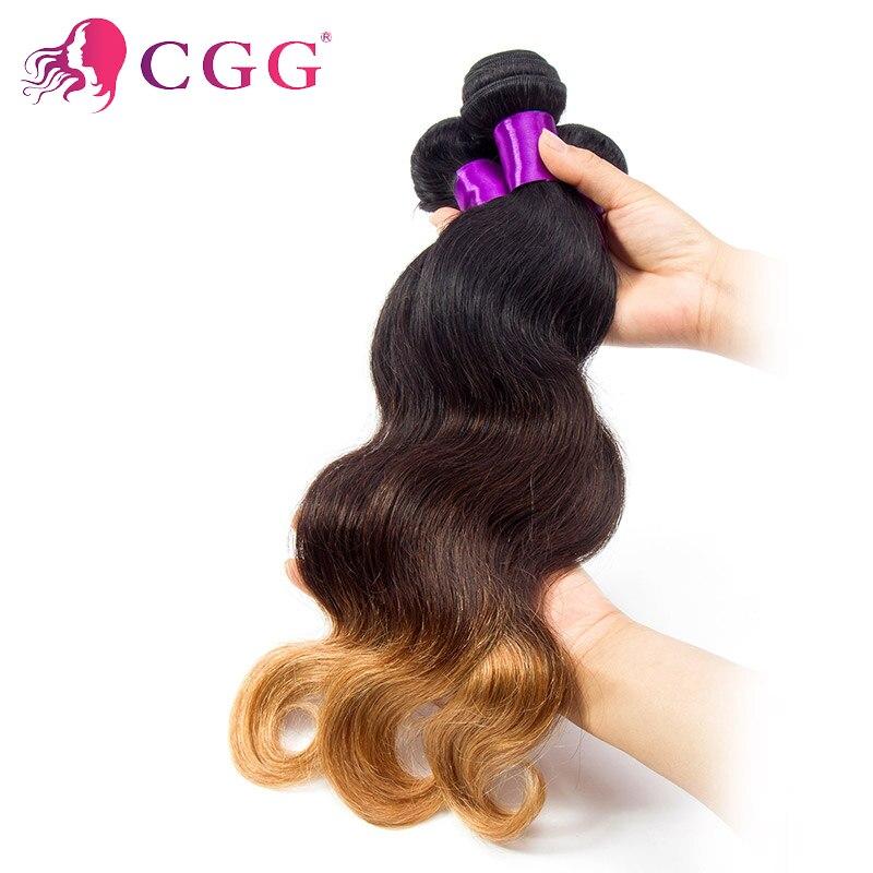 Rosa Hair Ombre Brazilian Virgin Hair Body Wave Ombre Brazilian Weave 4 Bundles Three Tone 7A  Ombre Virgin Hair Extension<br><br>Aliexpress