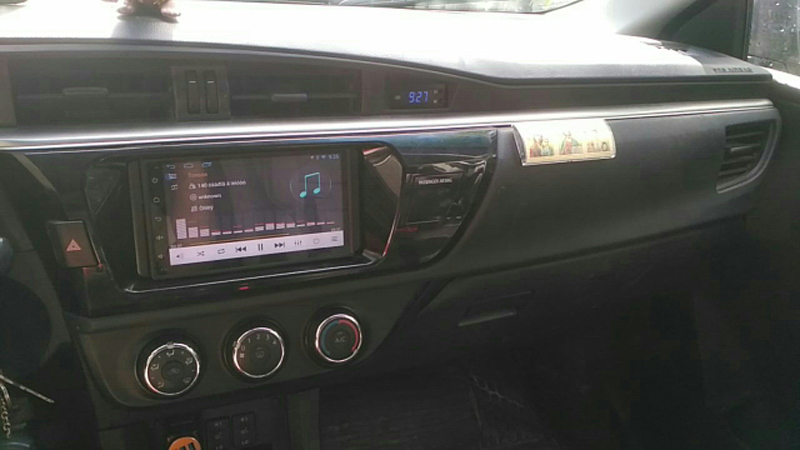 toyota corolla dvd android 2 din 0617