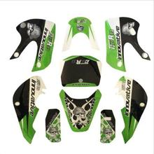Green KLX110 STICKER Graphics110/125/140/150/160/200 CC PIT BIKE DIRT BIKE(China)