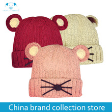 Baby Hats 3 Sizes 1-5 Years Boys Girls Hats Kids Winter Hats Bonnet Enfant Hat For Children Baby Muts MD116(China)