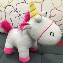 25cm 9.84inch Unicorn Dolls 7.87inch Despicable Me Minions Fluffy Juguetes Brinquedos Soft Stuffed Plush Toy Doll Gift For Kids