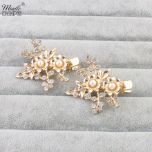 Miallo  2pcs/Pack bobby pin  hair clip flower prom  Hair Clips
