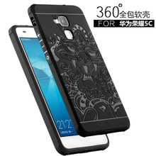 For Huawei Honor 5C Case Covers For Huawei Honor 5C Back Cover Cases Phone Anti-knock Armor Silicon Protection Bag Skin(China)