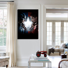 HD Marvel Canvas Prints Custom Movie Poster Films Decorations Modern Wall Art Canvas Unique Gift for Fans No Frame