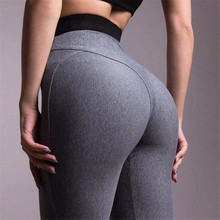 Buy 2018 Women Yoga Pants Sport Tights High Waist Push Fitness Sport Leggings Elastic Gym Sportswear Slim Running Trousers for $9.23 in AliExpress store