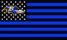 Baltimore Ravens US stars with black and BLUE stripes Flag 3FTx5FT Banner 100D Polyester flag 90x150cm(China)