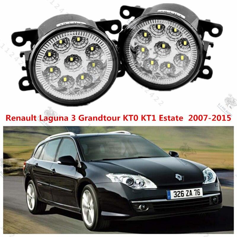 for RENAULT LAGUNA III Grandtour (KT0/1) 2007-2015 for front bumper high brightness LED Fog lights LAMPS Car styling 1set<br><br>Aliexpress