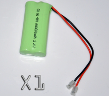 1PCS 2.4V AAA 600mah rechargeable battery pack 3A ni-mh nimh batteries NI MH cell for RC toys emergency light cordless phone A(China)