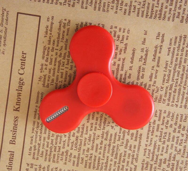 USB Chargeable Fidget Spinner Led Light Up Hand Spinner More than 10 Lighting changing Style Creative Fidget Spinner Led Lamp