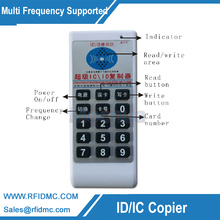 Handheld 125Khz-13.56MHZ RFID Copier Duplicator Cloner RFID Card reader & writer