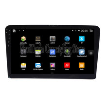 NaviTopia Brand New 10.1inch Quad Core Android 6.0 Car PC For Volkswagen Santana(2013-) Car Audio Player With GPS Navigation(China)