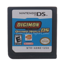 Nintendo NDS Video Game Cartridge Console Card Digimon World DS English Language USA Version