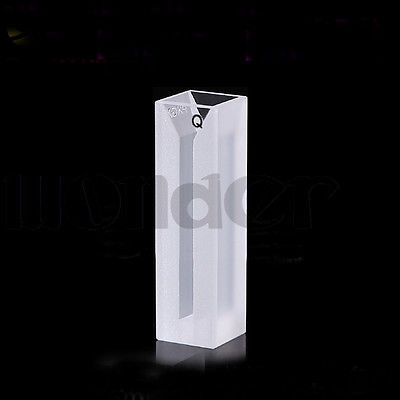 1050ul 3mm Inside Width Micro JGS1 Quartz Cuvette Cell With Stopper<br>