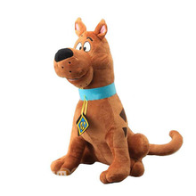 Scooby-Doo Large Scooby Doo Dog Plush Toy Stuffed Animals 35cm 14'' Kids Toys for Children Gifts