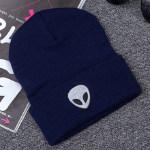 2017 Promotion Unisex Street Style Of Alien Embroidered Winter Hats For women Skullies Beanies winter cap men bonnet femme